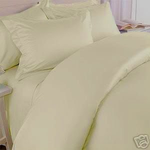 1200 Thread Count TWIN Size EXTRA LONG, Egyptian 3pc Bed Sheet Set, Deep Pocket, TAN