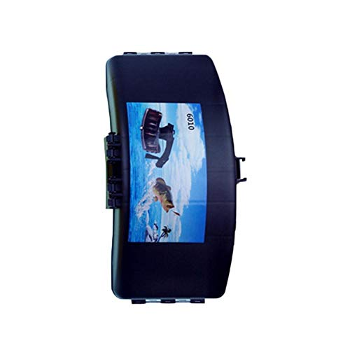 Beperfectly Fishing Gear Storage Case Portable Folding Fishing Waist Belt Bait Box