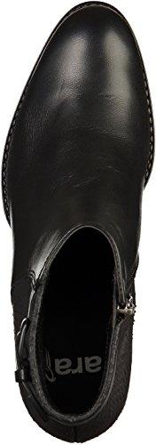 ara12-44135-74 - botines de caño bajo Mujer Negro - negro