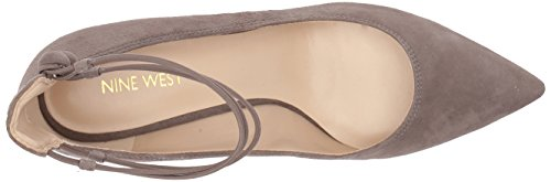 Nine West Women's Sawtelle Suede Pump Grey Suede exChlgXH