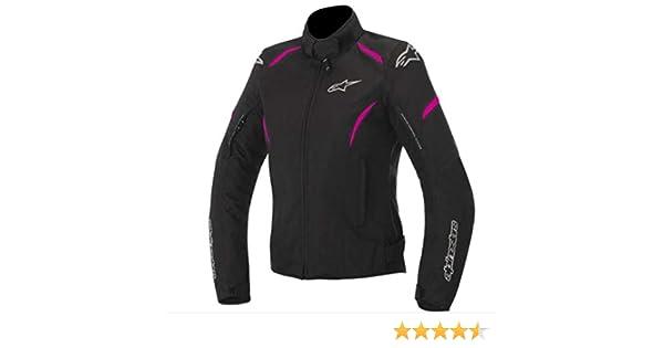 Alpinestars Womens Stella Gunner Waterproof Jacket (LARGE) (BLACK/PINK)
