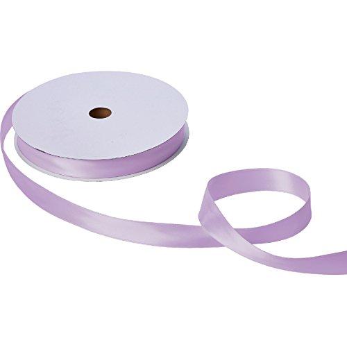 Jillson & Roberts Double-Faced Satin Ribbon, 1'' Wide x 100 Yards, Lavender by Jillson Roberts