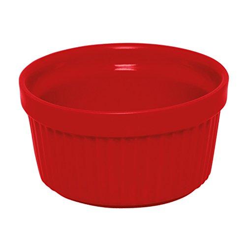 Rosso Excelsa Ramequin Monoporzione in Ceramica