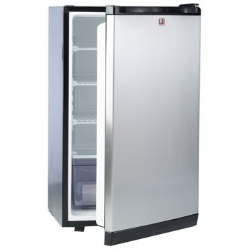 (Urban Islands Stainless Steel Refrigerator by Bull Outdoor Products)