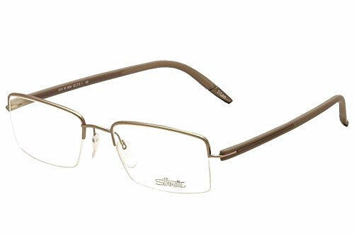Silhouette Eyeglasses SPX Signia Nylor 5419 6056 Half Rim Optical Frame - Optical Frames Silhouette