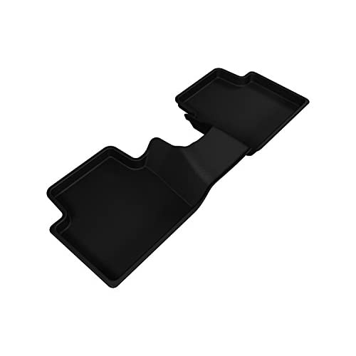 3D MAXpider Second Row Custom Fit All-Weather Floor Mat for Select Scion iA Models - Kagu Rubber (Black) for cheap