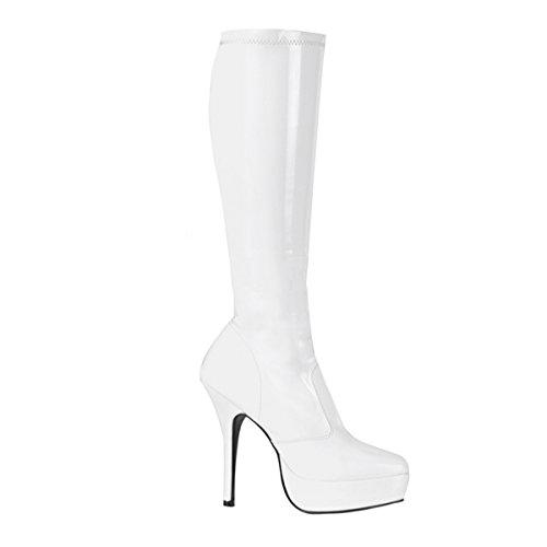 Devious Indulge-2000 - Sexy Fetisch Plateau High Heels Stiefel 36-48