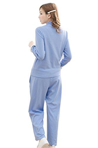 bearsland - Pijama entero - para mujer Azul