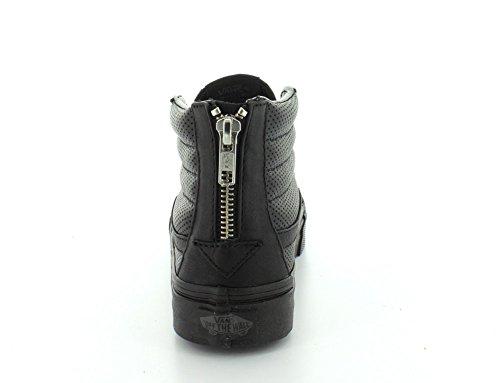 Black Slim Hi Black Perf Leather Zip Sneakers Black Vans Top Sk8 qHRfS5xY