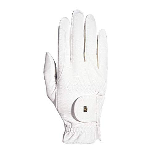 Roeckl Roeck-Grip Unisex Gloves 8 White