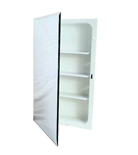 National Brand Alternative 561280 Aluminum Nutone Recessed Plastic Medicine Cabinet, 16'' x 20'' by National Brand Alternative