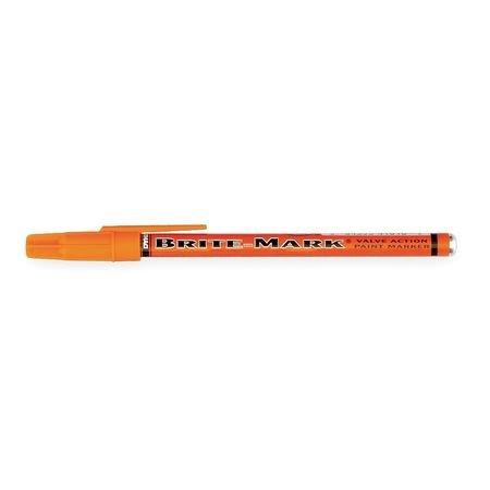 Dykem Brite-Mark 10105 Orange Fine Marking Pen - 41010 [PRICE is per EACH] (Metal Marking Pen)