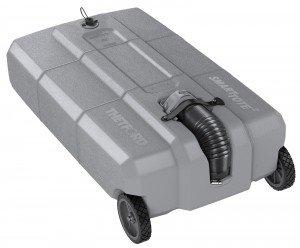 SmartTote 2 RV Portable Waste Tote Tank - 2 Wheels - 27 Gallons - Thetford 40502 ()