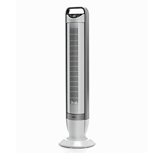 Fan Windchaser (Seville Classics UltraSlimline 40 in. Oscillating Tower Fan with Tilt Feature, White)