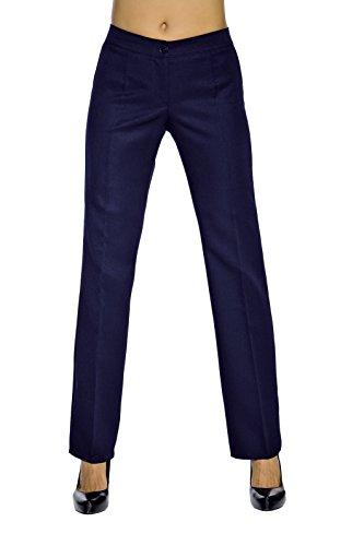 Blu Trendy Mujer Novaplus Lana De 100 Negro Pantalón qg6zUwZ