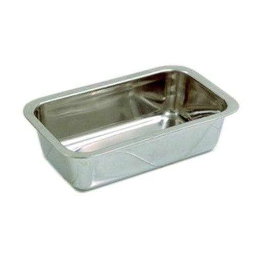 Norpro Stainless Steel Bread Loaf Meatloaf Dessert Pan With A Mirror Finish 3849 by Norpro