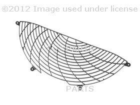 (BMW e38 e39 z8 Auxiliary Fan Grille screen Upper OEM radiator blower mesh)