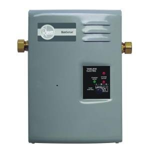 Rheem EcoSense On Demand 13kW 240 Volt Tankless Electric Water Heater by Rheem
