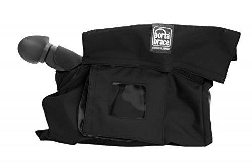 Monitor Case Porta Brace - PortaBrace RS-XF300 Rain Slicker, Canon XF-300 & XF-350, Black Rain Cover