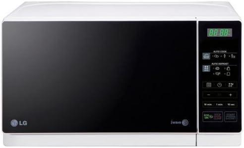 LG MH6043HAS Microondas con grill, Botón eco, 19 litros de ...