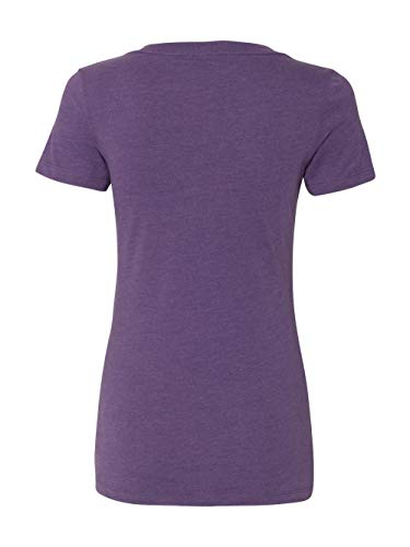 591f641116131 Buy Next Level Apparel 6640 CVC Deep V-Neck Tee - Purple Berry ...