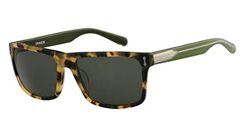 Dragon Tokio tortuga gafas de sol verdes Blindside: Amazon ...