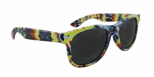 Colorful Tie Dye Wayfarer Style Sunglasses - Style Sunglasses Wayfarer Colorful