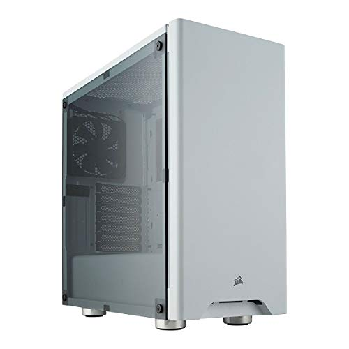 CORSAIR Carbide 275R Mid-Tower Gaming Case, Window Side Panel- White (Best Gaming Tower)