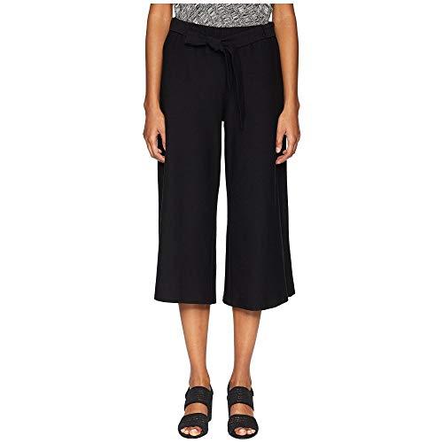ぬるい陽気なロデオ(アイリーンフィッシャー) Eileen Fisher レディース ボトムス?パンツ クロップド Stretch Crepe Wide Cropped Pants with Tie [並行輸入品]