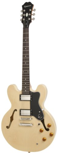 Epiphone DOT ES Style Semi-Hollowbody Electric Guitar, Natur