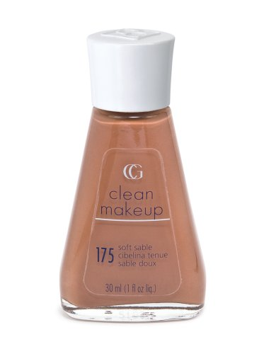 (CoverGirl Clean Liquid Make Up, Soft Sable 175, 1-Ounce Packages (Pack of 2))