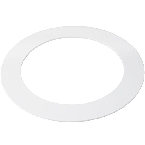 5 Pack White Goof Ring Trim Ring for Recessed Can and 6