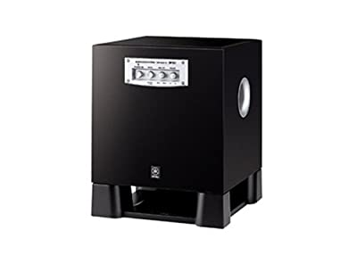 "Yamaha YST-SW215PN 8"" Powered Subwoofer (Piano Black) by YAMAHA"