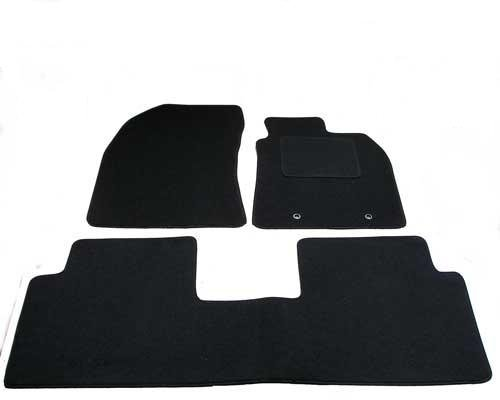 AVENSIS 2009-2012 TAILORED CAR FLOOR MATS DELUXE BLACK TOYOTA AVENSIS 2009-2012