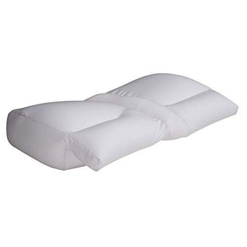 Better Sleep Cloud Microbead Pillow - Improves Hand and Arm Circulation - Bed Pillow, White (Best Pillow For Numb Arms)