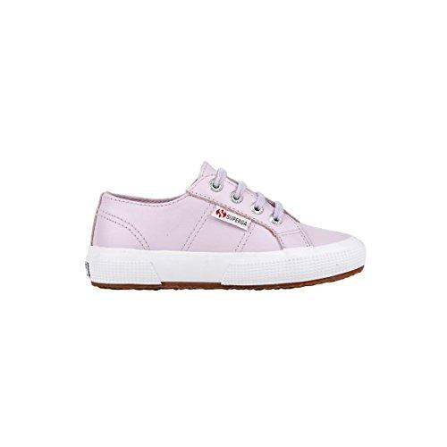 Superga 2750-FGLJ WT S0024T0 - Zapatos bajos de cuero para Orchid