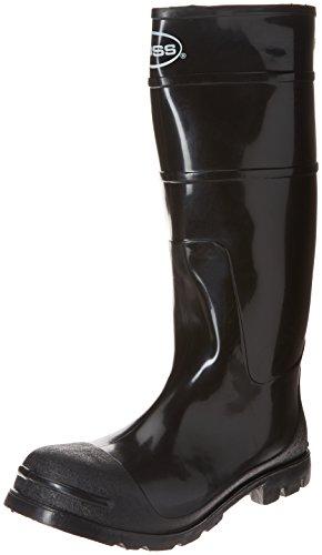 Men's PVC Knee Boot by Boss in Black GJREU1iY6