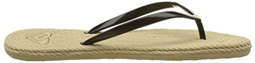 Roxy Beach Femme Black Tongs Multicolore South rzwxC5rq4