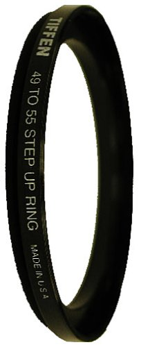 Tiffen MegaPlus 49mm-55mm Adapter Ring by Tiffen