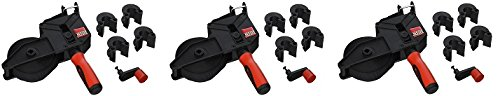 Bessey VAS-23+2K Variable Angle Strap Clamp with 2K Composite Handle, 23', Black/Red (3-(Black/Red)) by Bessey