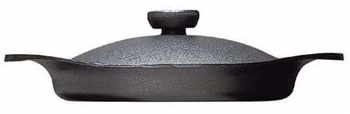 Sori Yanagi Nambu ironware oil pan 22cm (with lid handle iron) (Japan Import) by Sori Yanagi