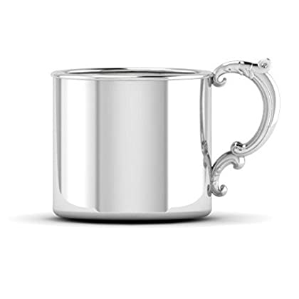 Image of Baby Krysaliis Sterling Silver 5 Ounce Classic Cup with Victorian Handle