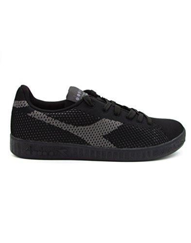 Diadora - Zapatillas para hombre negro negro