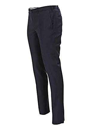 Wool trousers dark grey Incotex bNZ4yWzqNd