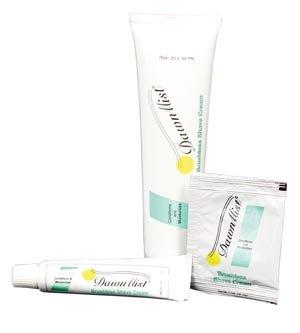 Dukal Dawnmist Shave Cream, Brushless.125 oz Single Use Packet PBS35