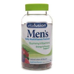 Quotidien de multivitamines et de Gummy Vitafusion hommes de 150 ch
