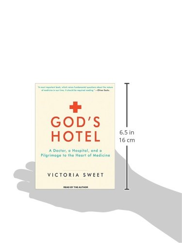 God's Hotel: A Doctor, a Hospital, and a Pilgrimage to the Heart of Medicine by Tantor Audio (Image #1)