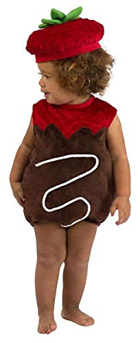 Princess Paradise Chocolate Strawberry Costume, 3 to 6 Months]()