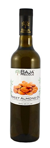 Baja Precious - Sweet Almond Oil, 750ml (25.3 Fl Oz) by Baja Precious