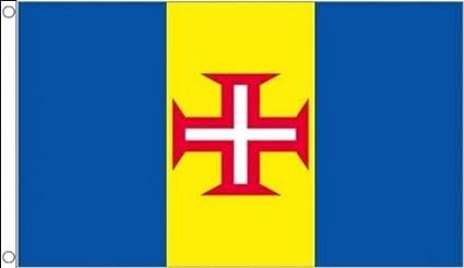 Portugal Madeira 152,4 cm x3 (150 cm x 90 cm) bandera